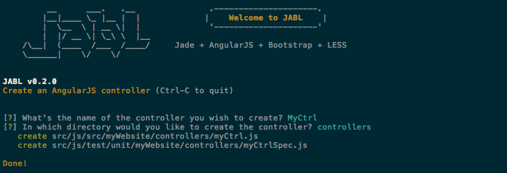 AngularJS controller