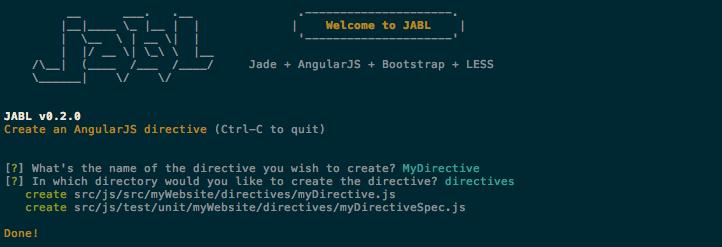 AngularJS directive